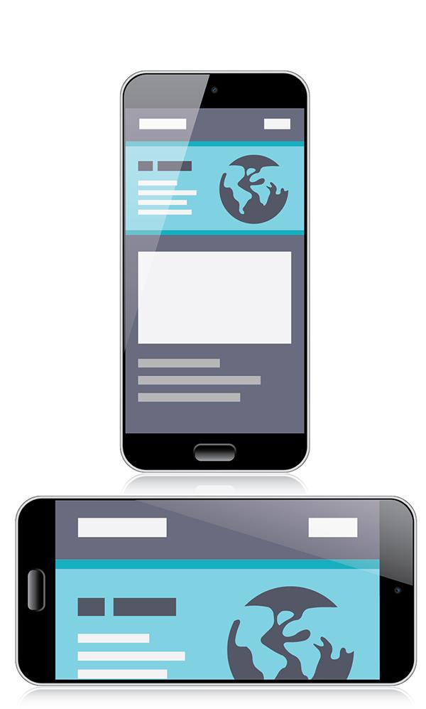 Hoog scoren in Google begint met een goede website voor mobiele telefoons.