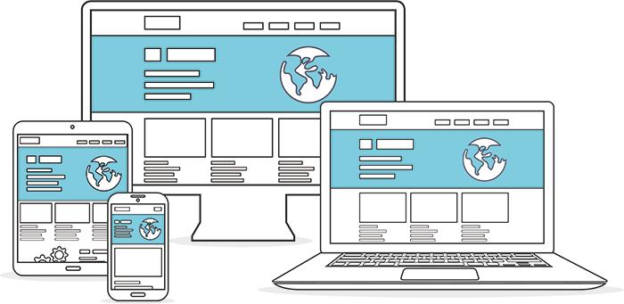 Website geoptimaliseerd voor mobiele apparaten en andere devices.